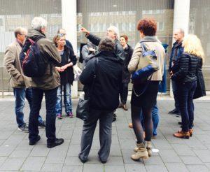 """SkF udn SKM im Erzbistum Köln stellen ihre Projekte vor. Hier """"Die Kölner Feger"""" des SKM-Köln, Foto: © B. Schneiderwind/SKM"""