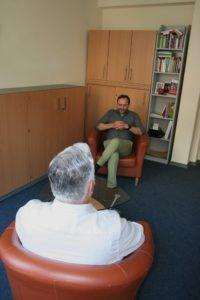 Manfred Höges, Krisen- und Gewaltberater für Männer, im Gespräch mit Herrn H.
