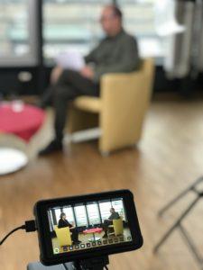Interview-Dreh #MittendrinStattDabei