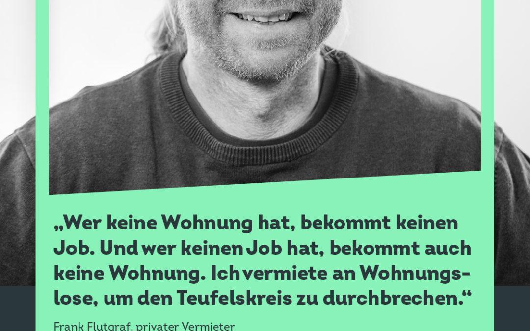 """""""Endlich ein Zuhause"""": Düsseldorfer Kampagne gegen Wohnungslosigkeit"""
