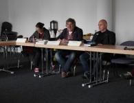 Claire Vogt, Ludger Urbic, Heinz-Georg Coenen