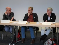 Roland Rosenow, Dr. Alfred Etheber, Barbara Kurlemann (SkF)